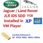 Jaguar / Land Rover JLR SDD V138 pre installed in win XP Pro SP3
