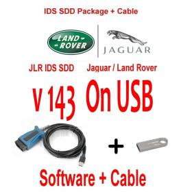 Jaguar Land Rover Range Rover Diagnostics kit IDS SDD JLR 143 + Cable
