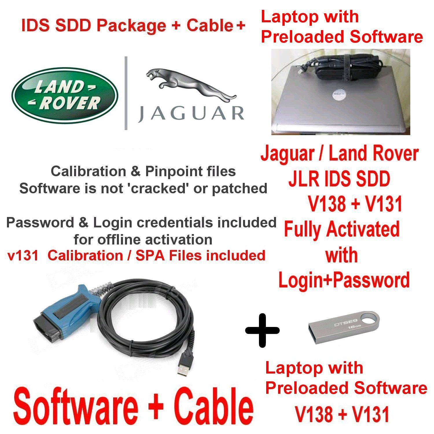 Panasonic Toughbook Cf 52 Land Rover And Jaguar Diagnostic Kit Range Sport Seat Wiring Diagnostics Ids Sdd Jlr 131 138 Cable Laptop Deal