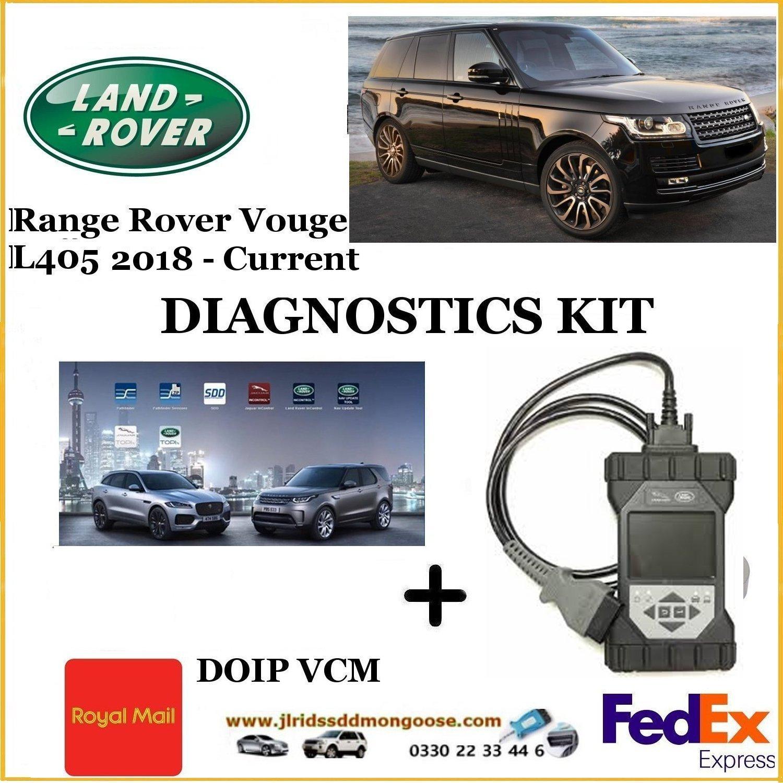 Vogue L405 2017 - Current Land Rover Pathfinder DOIP DIY KIT