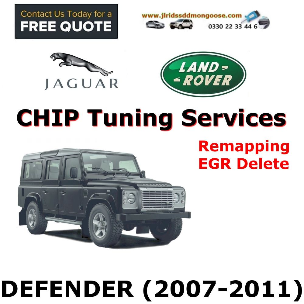 DEFENDER 2007-2011 Factory Tuning Firmware Update EGR Shutdown Programming service through remote access
