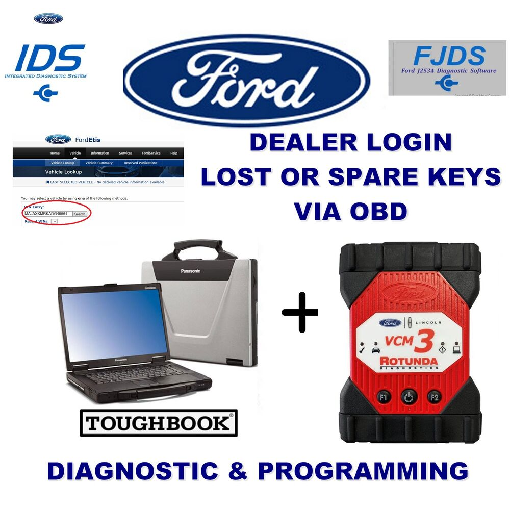 Ford Dealer Login Account Ford IDS FDRS FJDS PATS Packages from 1996-2021+