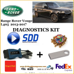 Vogue L405 2013 - 2017 Land Rover Symptom Driven Diagnostics SDD JLR Diy Kit, image 1