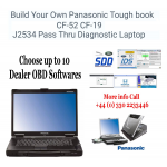 Build Your Own Panasonic Toughbook J2534 DOIP Pass Thru Diagnostic Laptop, image 1