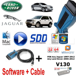 Land Rover Range Rover Vogue Evoque Diagnostics kit IDS SDD JLR Mongoose V130 Vmware
