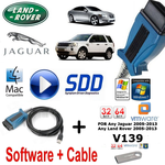 Land Rover Range Rover Vogue Evoque Diagnostics kit IDS SDD JLR Mongoose V139 Vmware