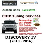 DISCOVERY IV 2010-2016 Factory Tuning Firmware Update EGR DPF Video on Move Bluetooth Maps Updates, image