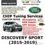 DISCOVERY SPORT (2015-2019)  Custom Coding Services, image