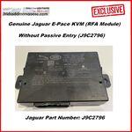 Genuine Jaguar E-Pace KVM (RFA Module) - Without Passive Entry (J9C2796) ENGINEER NUMBER J9C3, image
