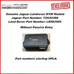 Genuine Jaguar Land Rover KVM (RFA Module) - Without Passive Entry - HPLA (LR083969 / T2H30388), image