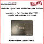 Genuine Jaguar Land Rover KVM (RFA Module) - Without Passive Entry (LR071651 / C2Z31063) DPLA, image