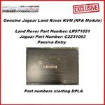 Genuine Jaguar Land Rover KVM (RFA Module) - Passive Entry (LR071386 / C2D44410) DPLA, image