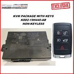 Genuine Jaguar Land Rover KVM NON PEPS KEY - New Type - NON - Passive Entry  K8D2 -19H440- AB, image