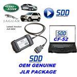 Jaguar Land Rover Symptom Driven Dynamics JLR ORIGINAL OEM SDD JLR VCI LAPTOP CF52, image
