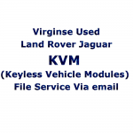 Virginse Used Land Rover Jaguar KVM (Keyless Vehicle Modules) File Service Via Post, image