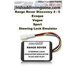 Range Rover Discovery 4 5 Evoque Vogue Sport Steering Lock Emulator UNIVERSAL ESL/ELV/SCL, image