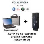 VAG ACTIA TC XS (VAS6154) Group Dealer Level Diagnostics Programming Toughbook ODIS, image