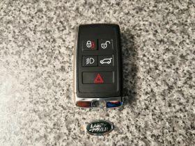ORIGINAL Smart key for Land/Range Rover Buttons:4+1 / Frequency:434MHz / Transponder: HITAG PRO / Blade signature:HU101 / Immobiliser System:KVM / Part No: PEPS(SUV)JK52-15K601-DG / Keyless Go, image , 3 image