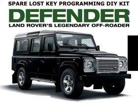 LANDROVER DEFENDER LUCUS FOB PROGRAMMER DIY KIT DONGLE compatible with all models upto 2012, image , 3 image