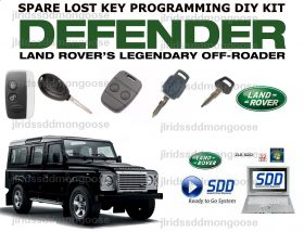 LANDROVER DEFENDER LUCUS FOB PROGRAMMER DIY KIT DONGLE compatible with all models upto 2012, image , 5 image