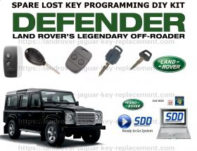 LANDROVER DEFENDER LUCUS FOB PROGRAMMER DIY KIT DONGLE compatible with all models upto 2012, image , 4 image