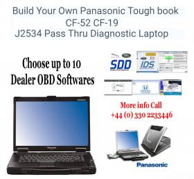 Build Your Own Panasonic Toughbook J2534 DOIP Pass Thru Diagnostic Laptop, image 15
