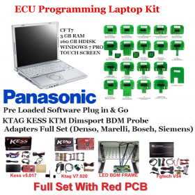 Kess  KTAG FGTech LED frame Dimsport BDM probe adapters full set Denso, Marelli, Bosch, Siemens, image