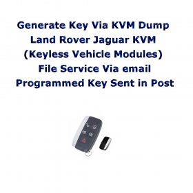 Postal Service Generate Key Via KVM Land Rover Jaguar KVM (Keyless Vehicle Modules), image , 3 image