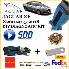 Jaguar XF X260 2015-2017 Diagnostics IDS SDD Tool, image 4
