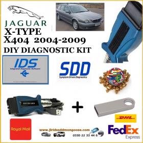Jaguar X-Type X404 2004-2009 Diagnostics IDS SDD Tool, image
