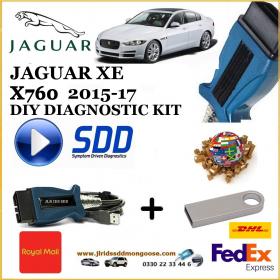 Jaguar XE X760 2015-2017 Diagnostics SDD Tool, image , 2 image