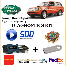 Sport L320 2006 - 2013 Land Rover Symptom Driven Diagnostics SDD JLR Diy Kit, image