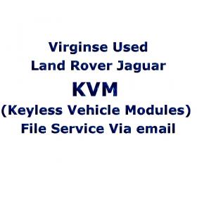 Virginse Used Land Rover Jaguar KVM (Keyless Vehicle Modules) File Service Via email, image