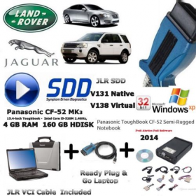 Jaguar Land Rover Diagnostics kit IDS SDD JLR + Cable + Laptop Deal, image , 17 image