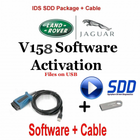 Jaguar Land Rover Symptom Driven Dynamics  SDD Activation for JLR SDD of latest version V159 optional VCM, image 3