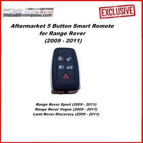 Aftermarket 5 Button Smart Remote for Range Rover (2009 - 2011), image