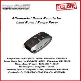 Aftermarket Land Rover Jaguar  Smart Key 5 Buttons Evoque Keyless Entry Remote Fob (2011-2019), image