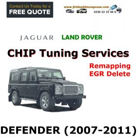 DEFENDER 2007-2011 Factory Tuning Firmware Update EGR Shutdown Programming service through remote access, image