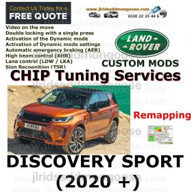 DISCOVERY SPORT (2020+)  Custom Coding Services, image