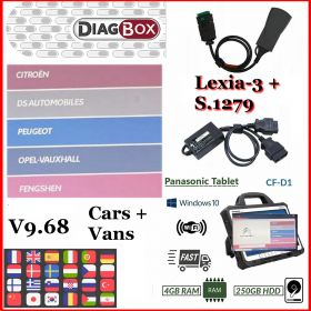 Diagbox v9.87 Peugeot Citroen Opel Workshop Diagnostics Programming  Tool, image