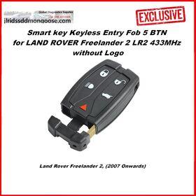 Smart key Keyless Entry Fob 5 BTN for LAND ROVER Freelander 2 LR2 433MHz without Logo (2007+), image