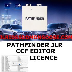 Licence for Unlimited CCF Editor for JLR Pathfinder SDD, image