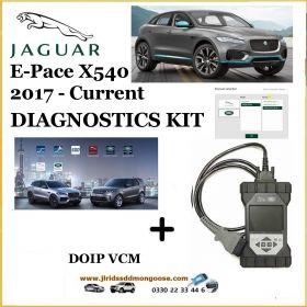 Jaguar E-Pace X540 2017 - current Diagnostics Pathfinder DOIP Tool, image