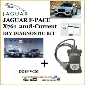 Jaguar F-Pace X761 2018 - current Diagnostics Pathfinder DOIP Tool, image