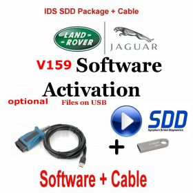 Jaguar Land Rover Symptom Driven Dynamics  SDD Activation for JLR SDD of latest version V159 optional VCM, image 1