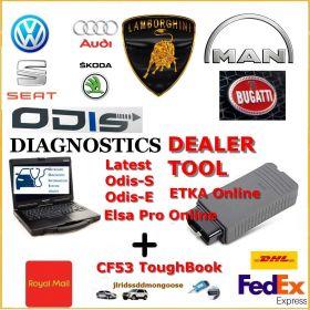 VAG Group Dealer Level Diagnostics Programming Laptop ODIS 6.2, image
