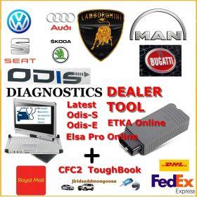 VAG Group Dealer Level Diagnostics Programming Laptop ODIS 6.2, image , 8 image