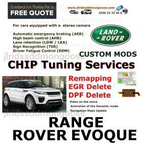 Range rover Evoque (2011 - 2019 )  Custom Coding Services