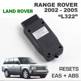 Range Rover L322 EAS ABS RESET tool. Air Suspension kicker fault clear activate produced between 2002 and 2005, image