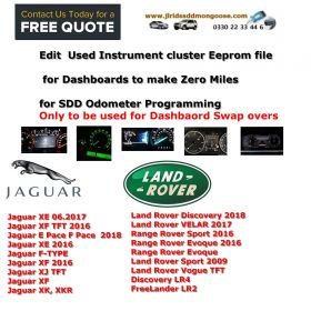 Edit  Used Instrument cluster Eeprom file for Dashboards to make Zero Miles  for SDD Odometer Programming, image